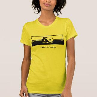 Guitar Logo Clean, Take it easy... T-Shirt