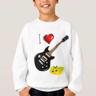 Guitar lovers sweatshirt