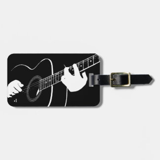 guitar luggage tag
