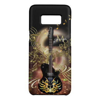 Guitar Magic Rock Music Gold and Black Case-Mate Samsung Galaxy S8 Case