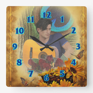 Guitar Man Wallclock