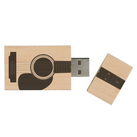 Guitar Maple USB Drive