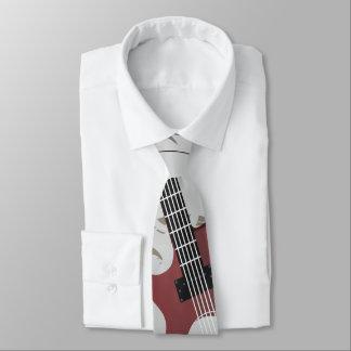 Guitar Men's Tie