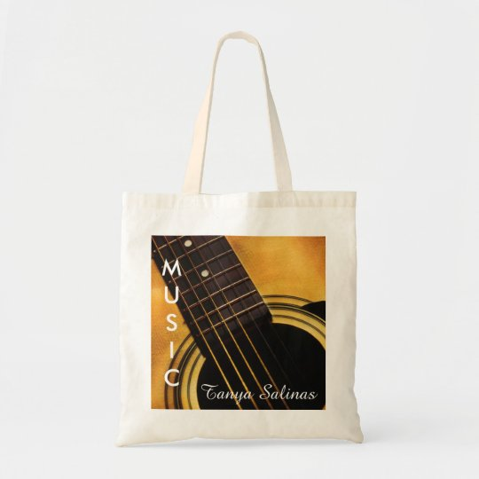 Guitar Music Bag Personalised Name | Guitarist