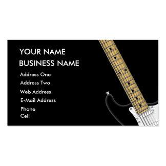 Guitar - Music Business Card