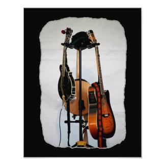 Guitar Musical Instruments Photo Print
