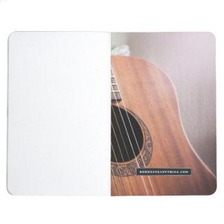 Guitar Notebook: Customizable Journal