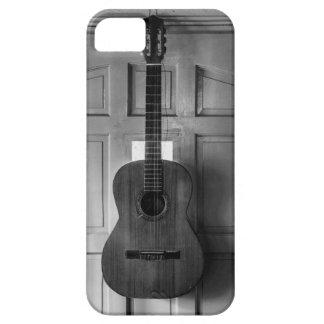 Guitar on the door iPhone 5/5S cases