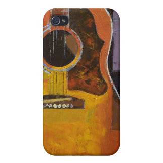 Guitar Painting iPhone 4 Case