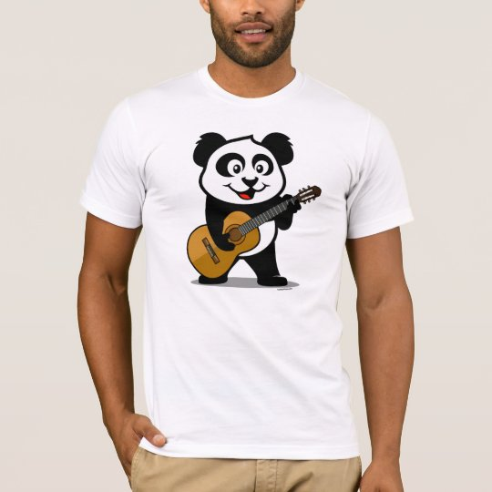 Guitar Panda (light shirts) T-Shirt