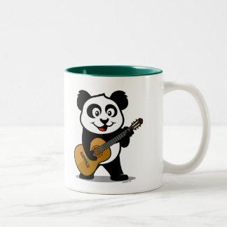 Guitar Panda Coffee Mugs
