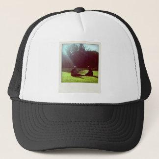Guitar, Peace, Freedom, Nature - ReasonerStore Trucker Hat