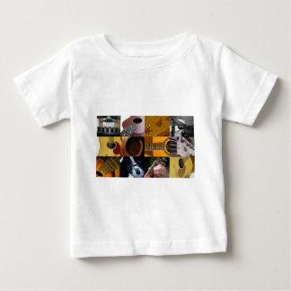 Guitar Photos Collage Baby T-Shirt