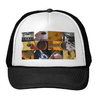 Guitar Photos Collage Cap