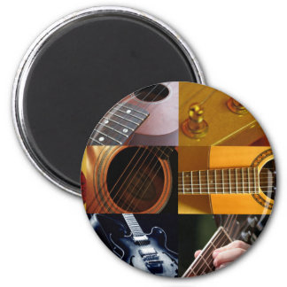 Guitar Photos Collage Magnet