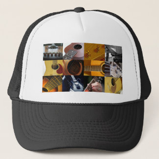 Guitar Photos Collage Trucker Hat