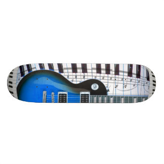 Guitar Piano Keyboard Custom Skateboard