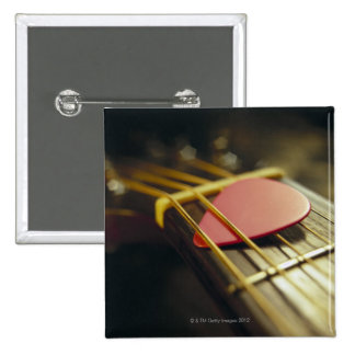 Guitar Pick 15 Cm Square Badge