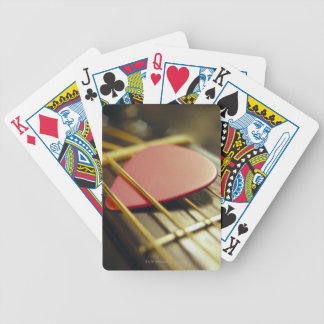 Guitar Pick Bicycle Playing Cards