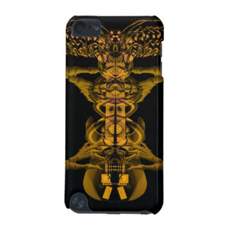 Guitar pick fingers pluck a gold guitar ipod case iPod touch (5th generation) case