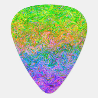Guitar Pick Fluid Colors