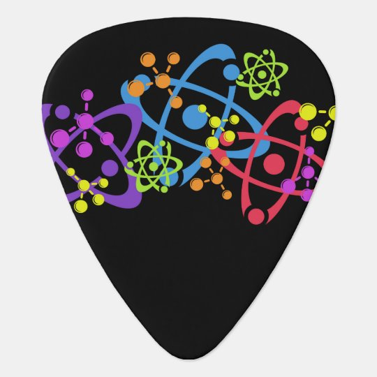 Guitar Pick, Geek, Nuclear Science Plectrum