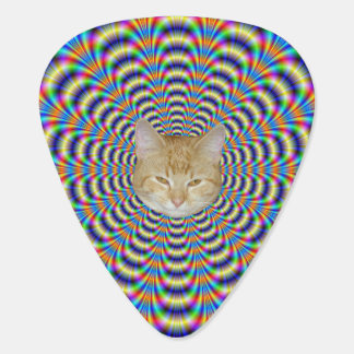 Guitar Pick  Psychedelic Ringed Pulse