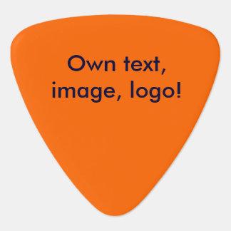 Guitar Pick uni Orange