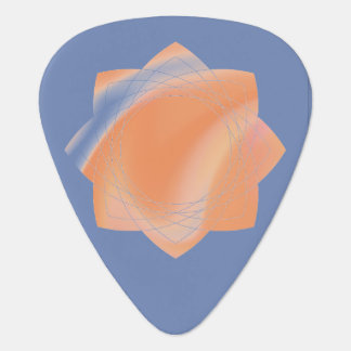 Guitar Pick with tye-die design