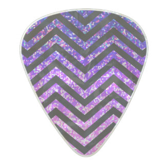 Guitar Pick Zig Zag Sparkley Texture