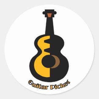 Guitar Picker Sticker