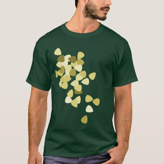 Guitar Picks (Green) T-Shirt