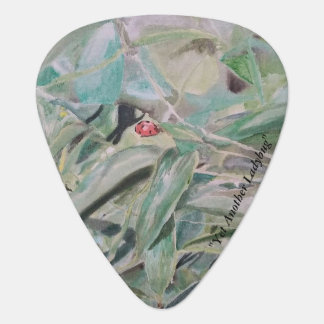 "Guitar Picks, ""Yet Another Ladybug"" ALarsenArtist Plectrum"