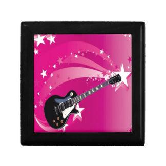 Guitar Pink Gift Box