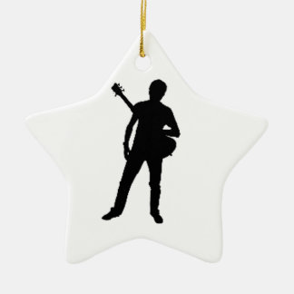 """""""Guitar Player"""" design gifts and products Christmas Ornament"""