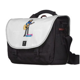 Guitar Player - Medium Laptop Bags