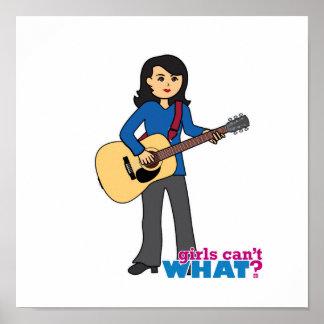 Guitar Player - Medium Posters