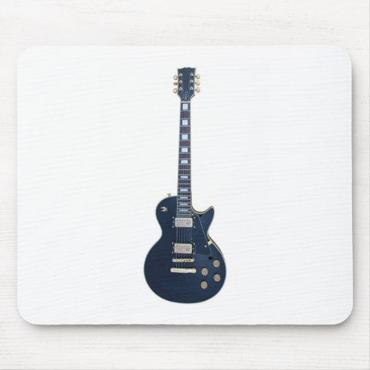 Guitar player mouse mat