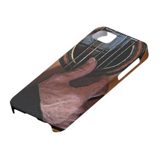 Guitar Player Music Lover's Cell Phone Case iPhone 5 Cases