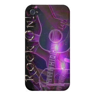 Guitar Player Music Lover's iPhone Case iPhone 4 Cover