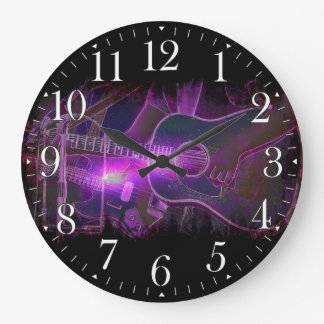 Guitar Player Music-lovers Wall Clock