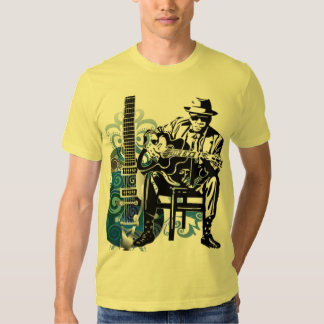 guitar player music man  tshirt