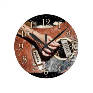 Guitar Player Music Themed Wall Clock