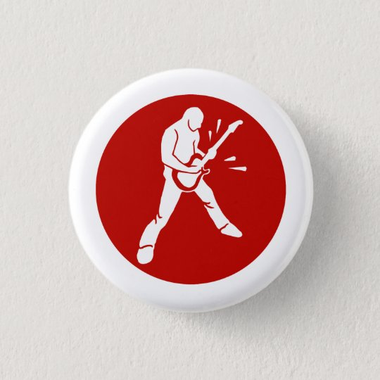 Guitar Player Red button