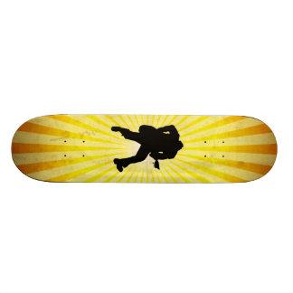 Guitar Player Silhouette Skate Deck