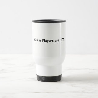 Guitar Players are HOT Travel Mug