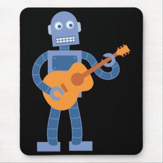 Guitar Robot Mouse Pad