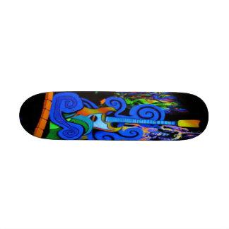 guitar rock board skate boards