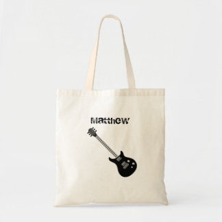Guitar Rock Star Budget Tote Bag