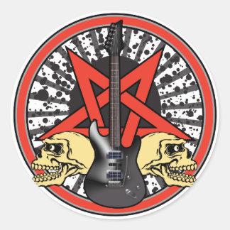 Guitar Rock Star Sticker